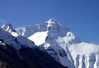 Monte Everest en el lado de China