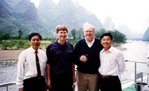 Bill Gates & Warren Buffet visitaron Guilin
